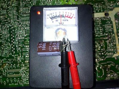 cara membuat esr meter analog