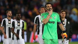 Buffon no pensando Inicio del Camp Nou Sin encajados
