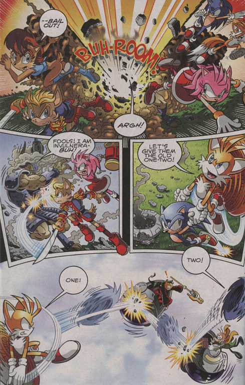 Read online Sonic The Hedgehog comic -  Issue #206 - 11