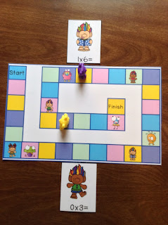 Trolls Multiplication Race