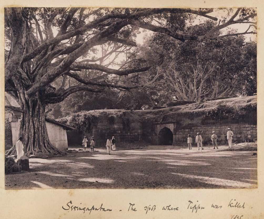 The spot where Tipu Sultan was killed - Srirangapatna, Karnataka, 1895