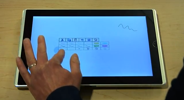 Microsoft Research: Pen-and-Touch Interaction for Touch-Screen Displays of All Sizes