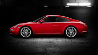 2012 Porsche 911 (991 not 998) External Color Solid Guards Red