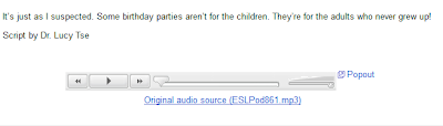 Google Reader Player