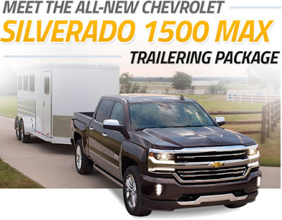 Silverado 1500 Max Trailering Package Now Available at Graff Chevrolet Durand