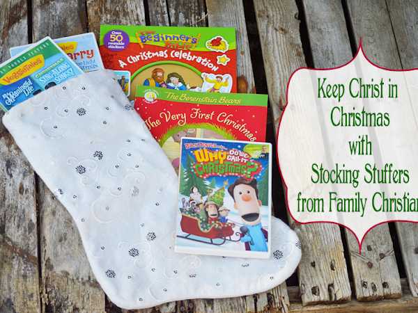 Keep Christ in Christmas with Stocking Stuffers from Family Christian! #FCBlogger