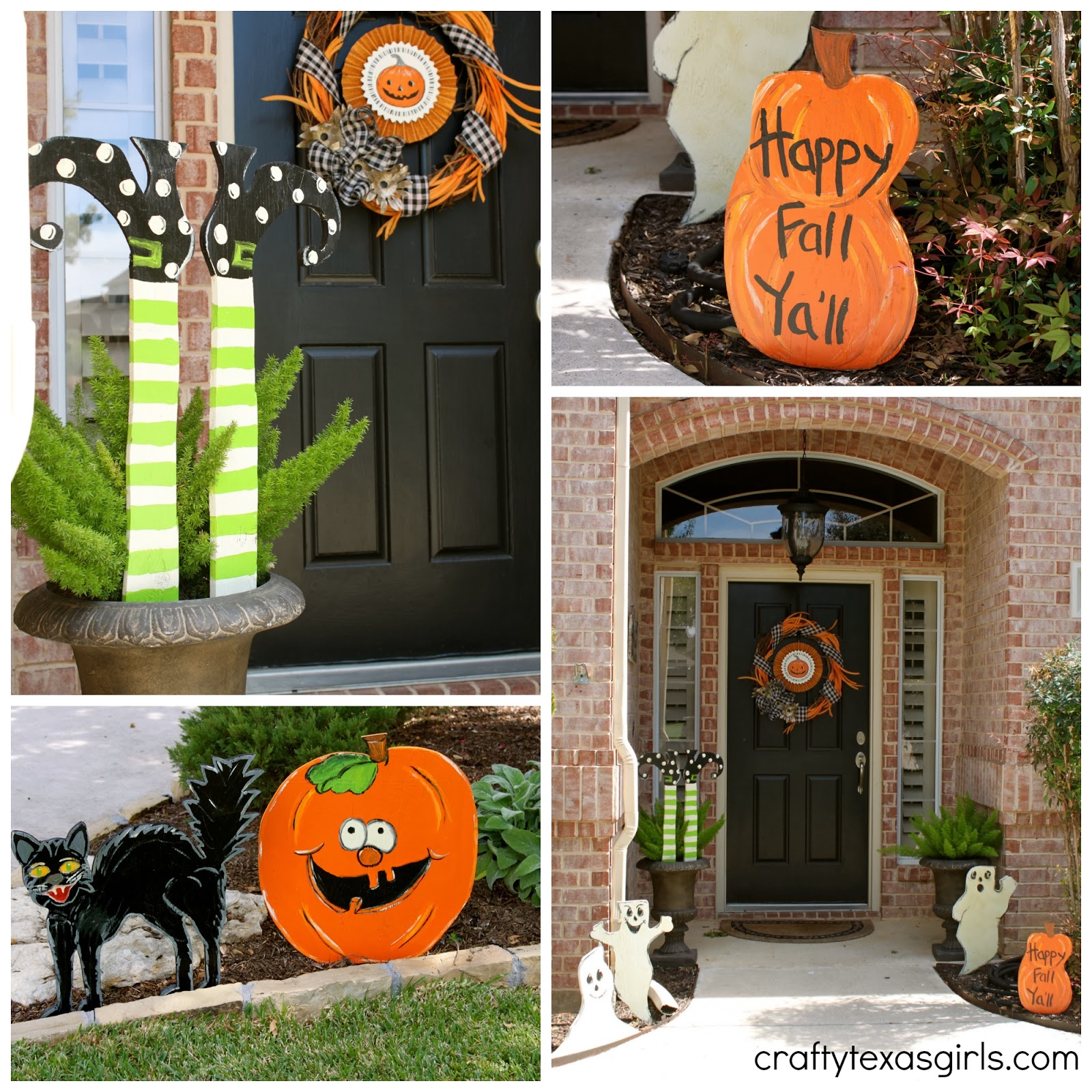 Halloween Home Decor Ideas: Crafty Texas Girls: Halloween House Tour