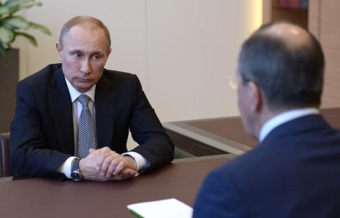 """拉夫羅夫和""""普京"""""""