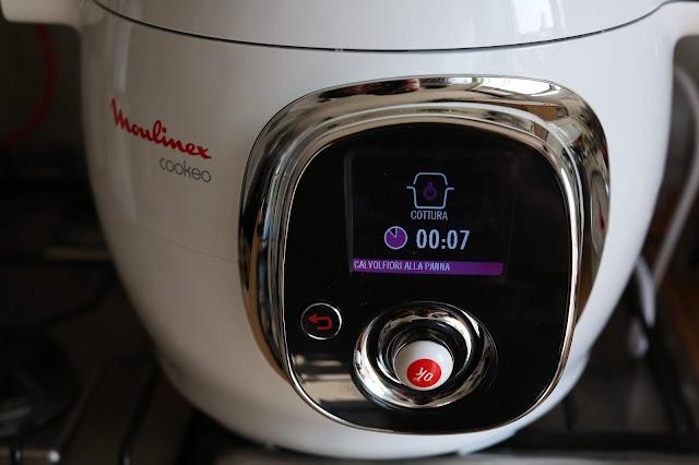 come funziona cookeo moulinex