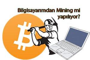 Bitcoin Mining virüsü
