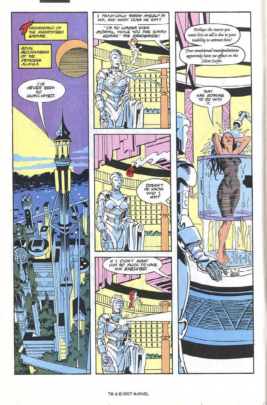 Silver Surfer (1987) issue 66 - Page 8