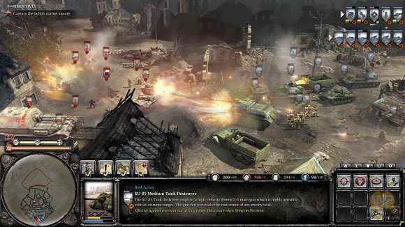 Company of heroes opposing fronts skirmish maps for free.