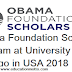 Obama Foundation Scholars Program at University of Chicago in USA 2018