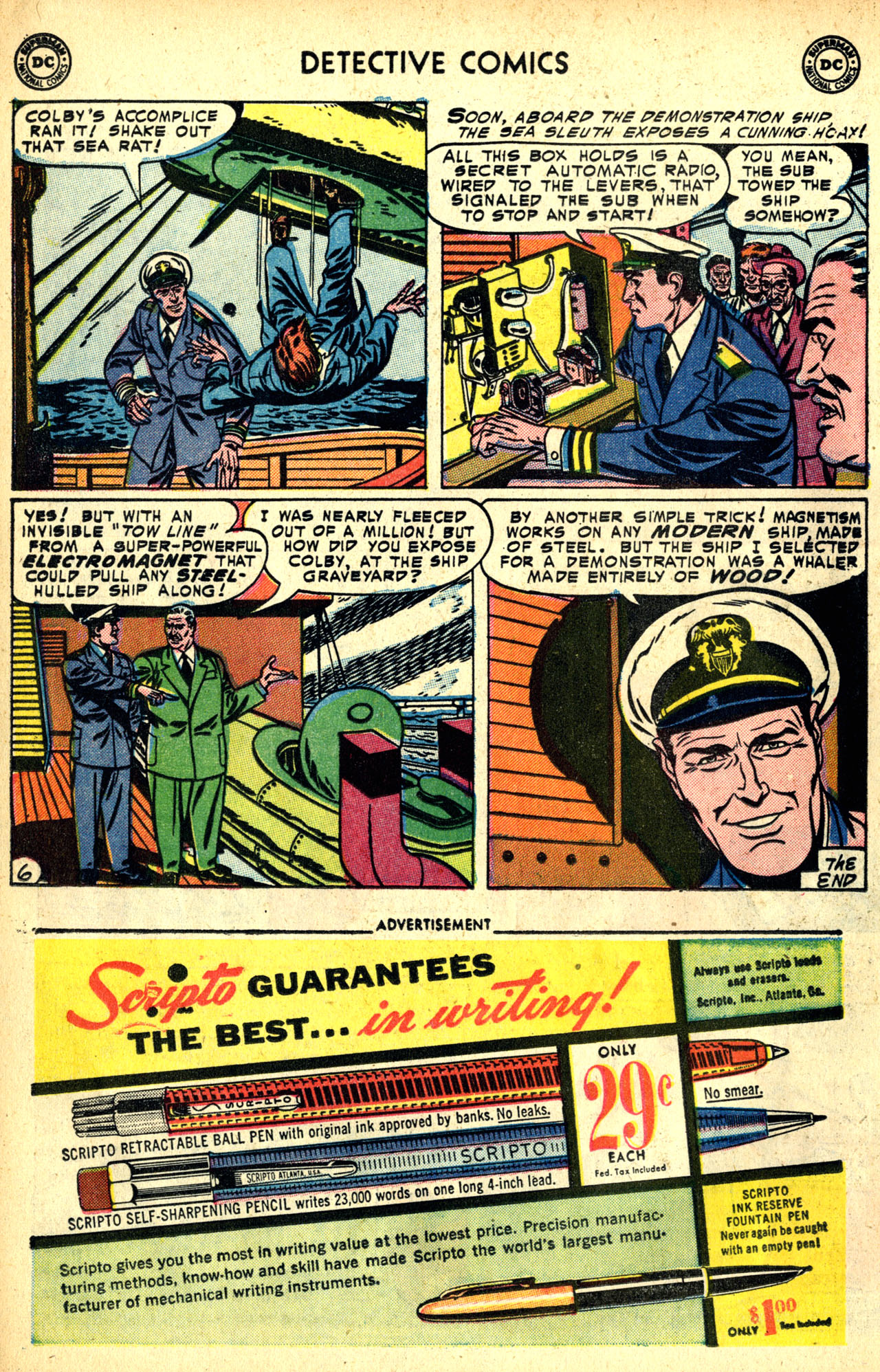 Detective Comics (1937) 208 Page 29