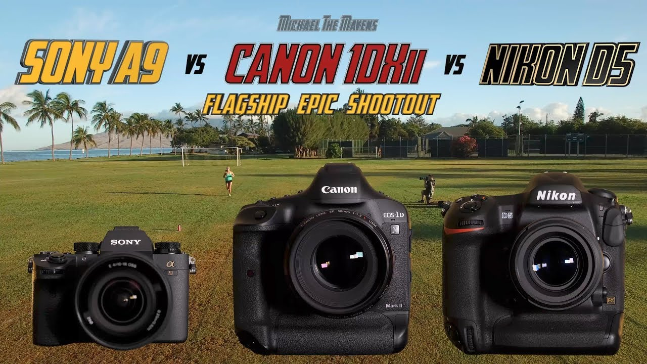Sony A9 vs Canon 1Dxii vs Nikon D5