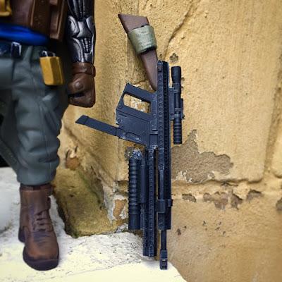 Deadpool 2's Cable Marvel Resin Figure Gun by WheresChappell