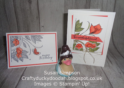 #stampinupuk, Craftyduckydoodah!, June 2018 Coffee & Cards Project, Serene Garden, Stampin Up! UK Idependent Demonstrator Susan Simpson, Supplies available 24/7 from my online store,