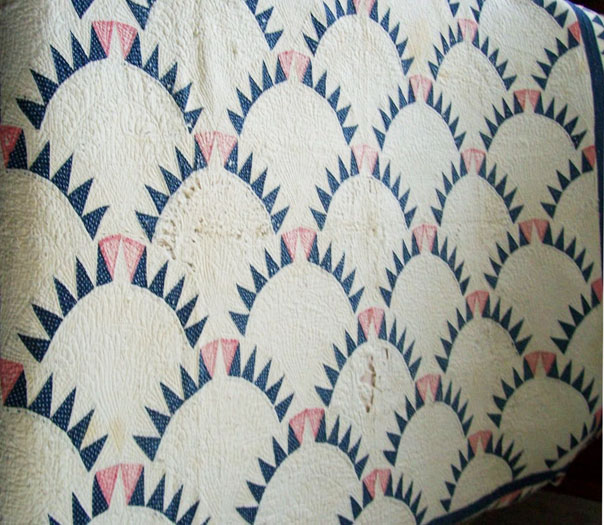 Cloud Of Quilt Patterns Not Square Blocks Curved Shell