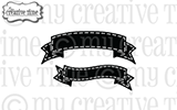 My creative time dies - GINGERBREAD BANNER DIES