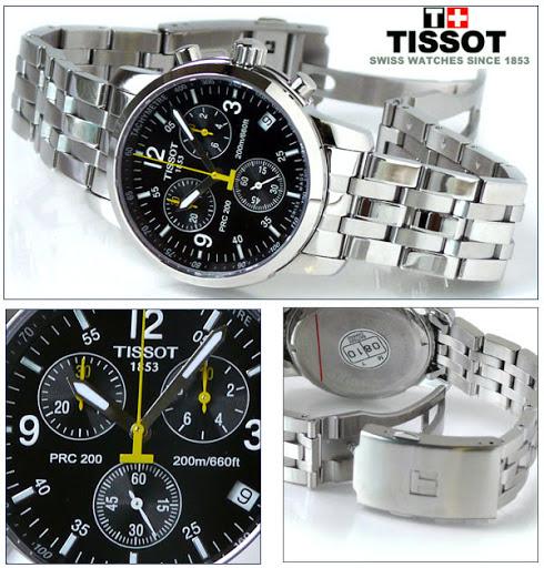 Đồng hồ Tissot 1853 cao cấp, chính hãng của Thụy sỹ hiện đại sang trọng,  thể hiện được phong cách riêng nhờ chất liệu vỏ inox sáng bóng cao cấp 316L  cùng ...