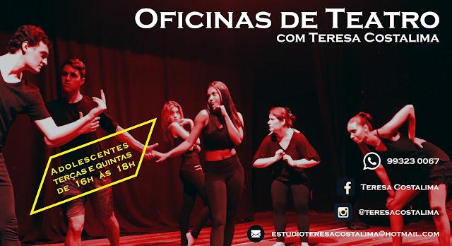 Oficinas de Teatro no Rio Vermelho