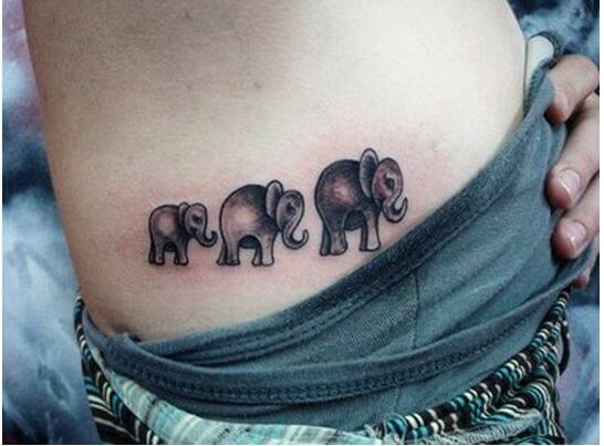 50 Geometric Elephant Tattoos Designs Ideas 2019 With Meaning