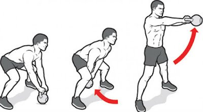kettlebell swing workout for burn extra calories