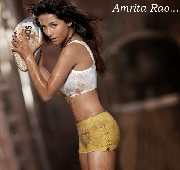 Amrita Rao - The Sexy Rugby Player