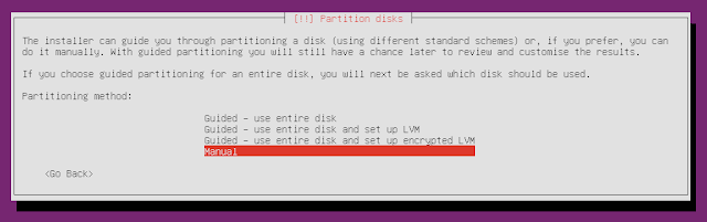 Ubuntu Minimal CD partitioning