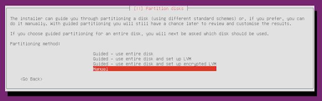 Ubuntu Minimal CD partitioning
