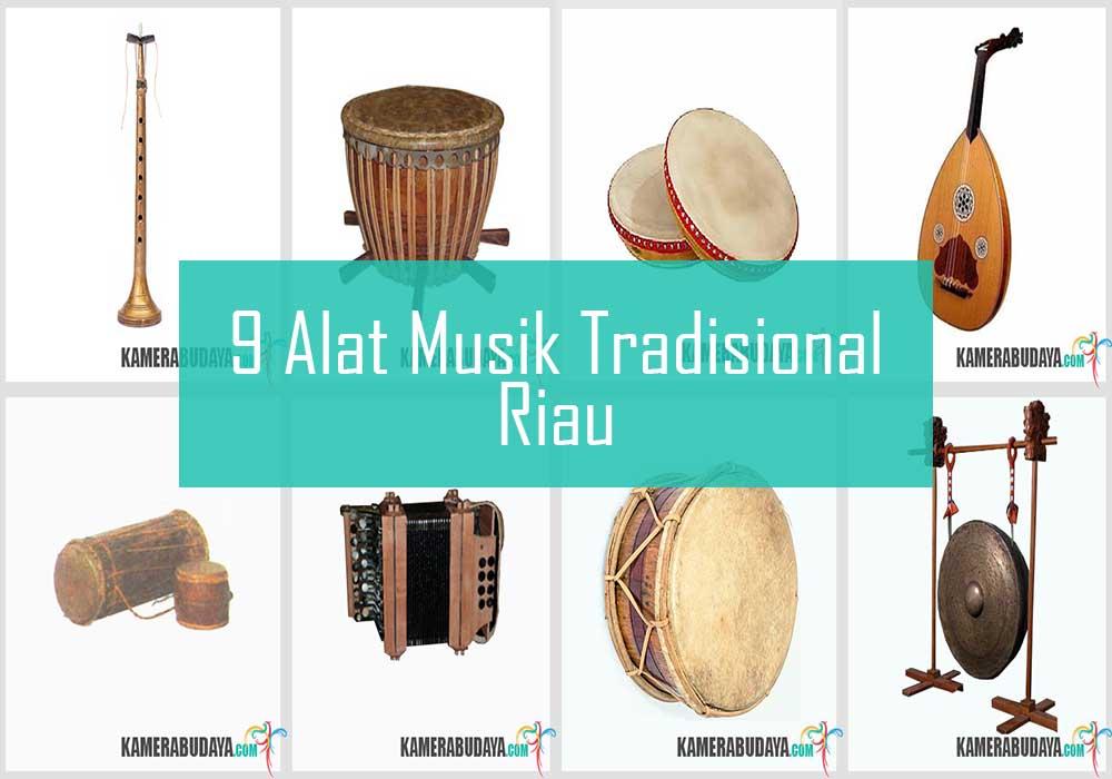 Inilah 9 Alat Musik Tradisional Dari Riau