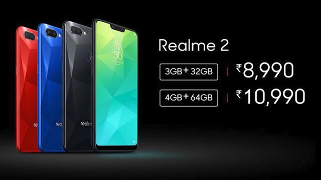Realme 2 Flash Sale Tomorrow on 12pm