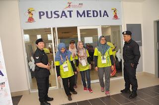 Polis Tidak Abai Petugas Media SUKMA XVIII