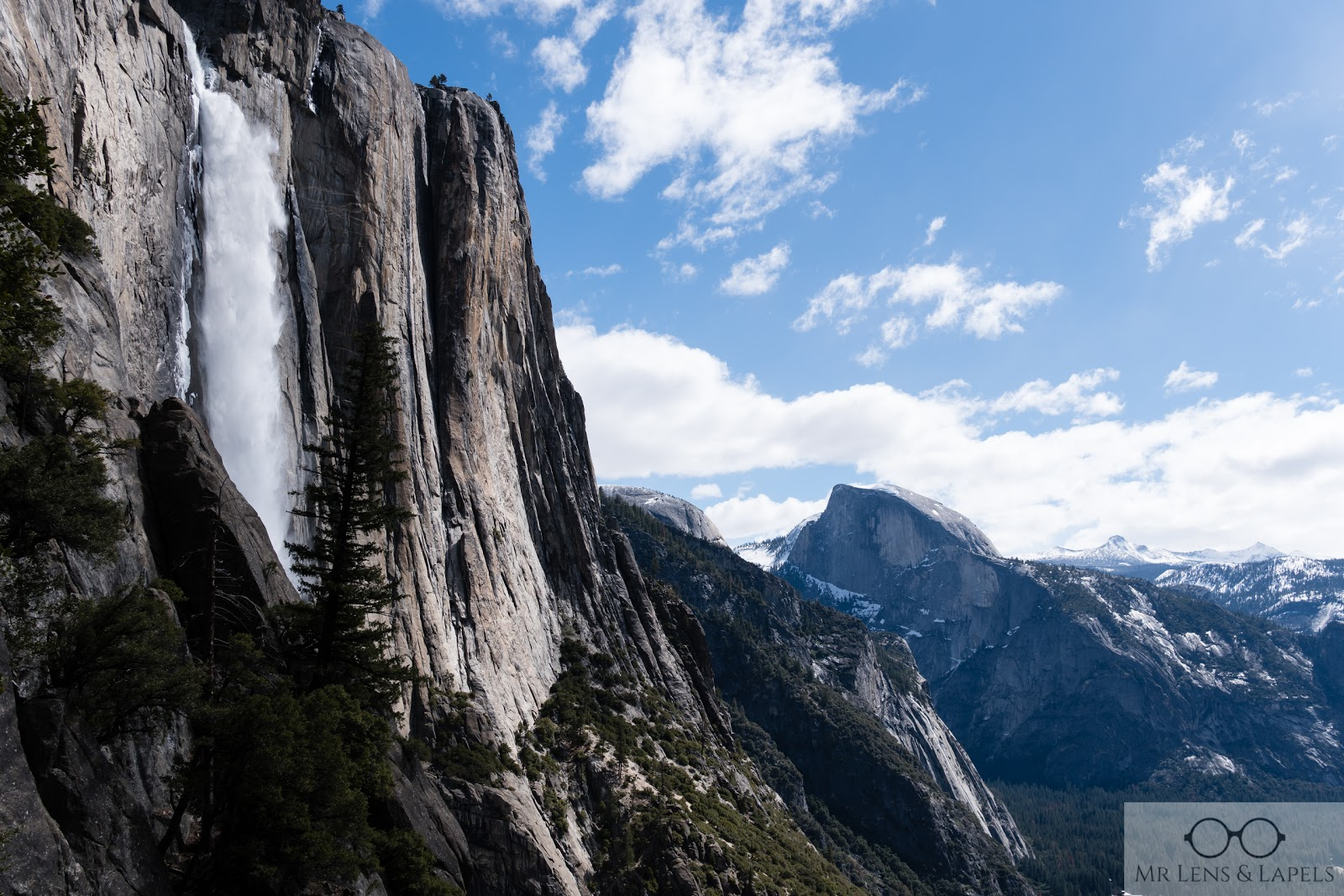 Yosemite national park upper yosemite falls