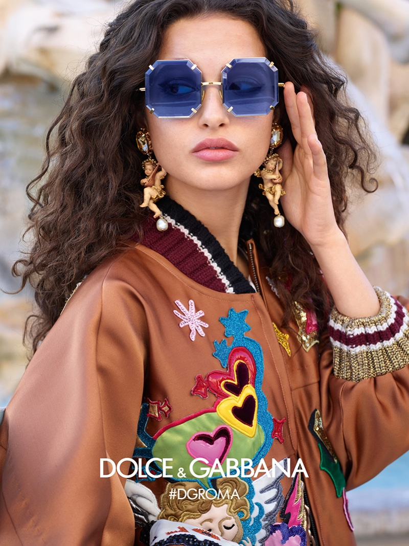 6d1edf8e93 Dolce   Gabbana Eyewear Fall Winter 2018 Campaign