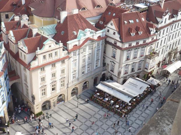 Piazza Vecchia Praga