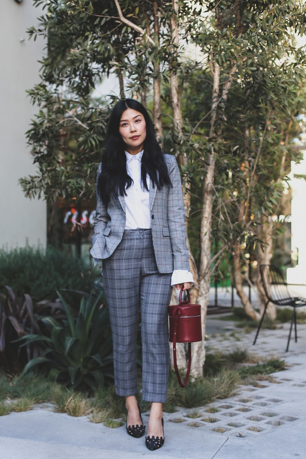 style blog chic work outfit idea