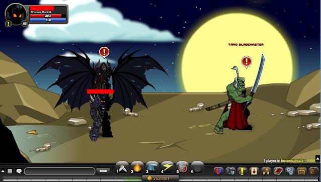 Void Highlord/ Taro Blademaster Tercessuinotlim AQW Coordinates