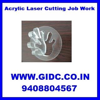 Acrylic Laser Cutting Job Work
