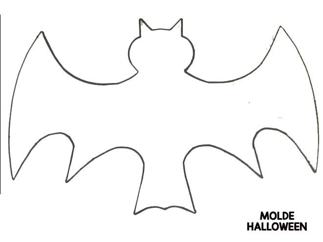 15 Moldes De Morcego Para Feltro Ou Eva Halloween Ou Dia Das
