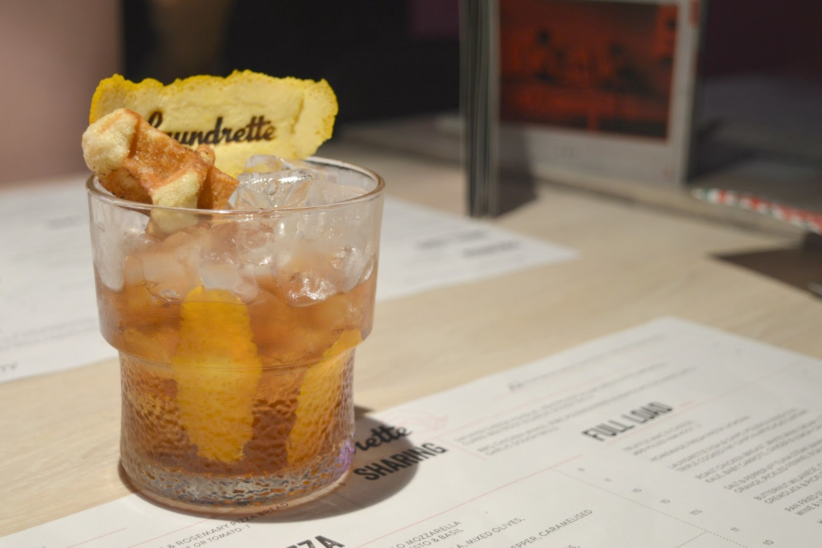 The Laundrette, Newcastle - Wafflin on Old Fashioned