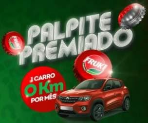 Cadastrar Promoção Palpite Premiado Fruki Refrigerantes 2018 Carros Zero KM