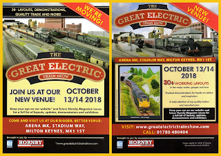 Announcements; Auction News; Events; Great Electric Train Show; Hornby Magazine; Key Events; Milton Keynes; Miscellaneous; News Views Etc...; October 13th/14th; Show Dates; Show News; Show Reports; Show Times; Small Scale World; smallscaleworld.blogspot.com; Toy Fairs;