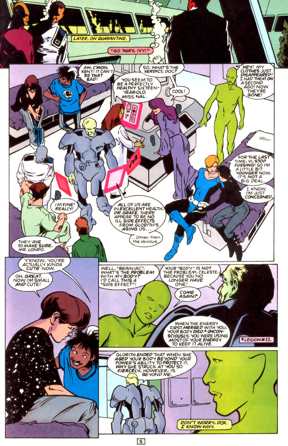 Legion of Super-Heroes (1989) 54 Page 4
