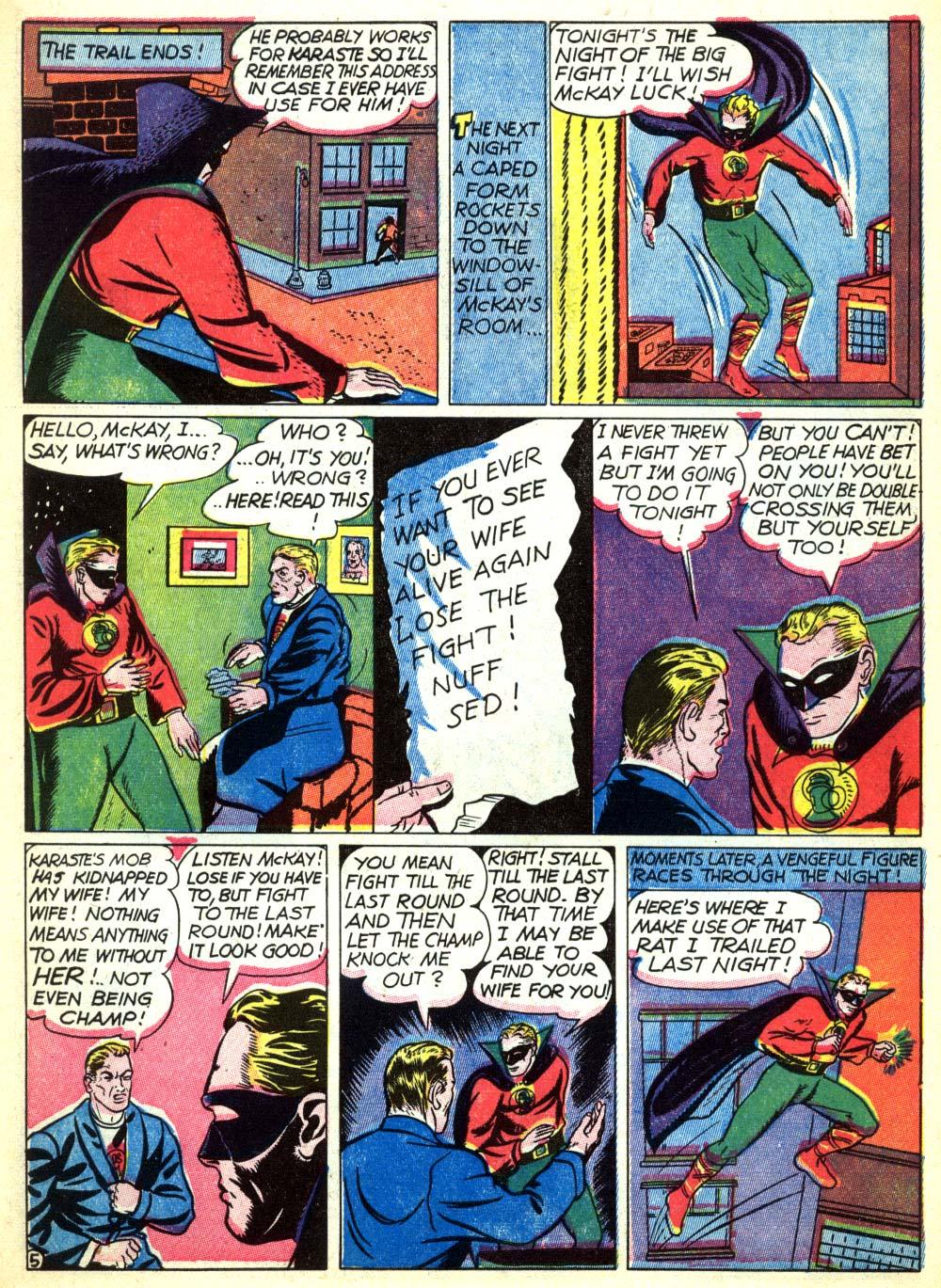 Read online All-American Comics (1939) comic -  Issue #22 - 7