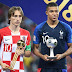 Luka Modric é eleito melhor jogador da Copa do Mundo da Rússia
