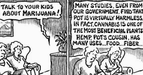 TALK TO YOUR KIDS ABOUT MARIJUANA