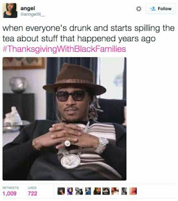 Best Thanksgiving with Black Families