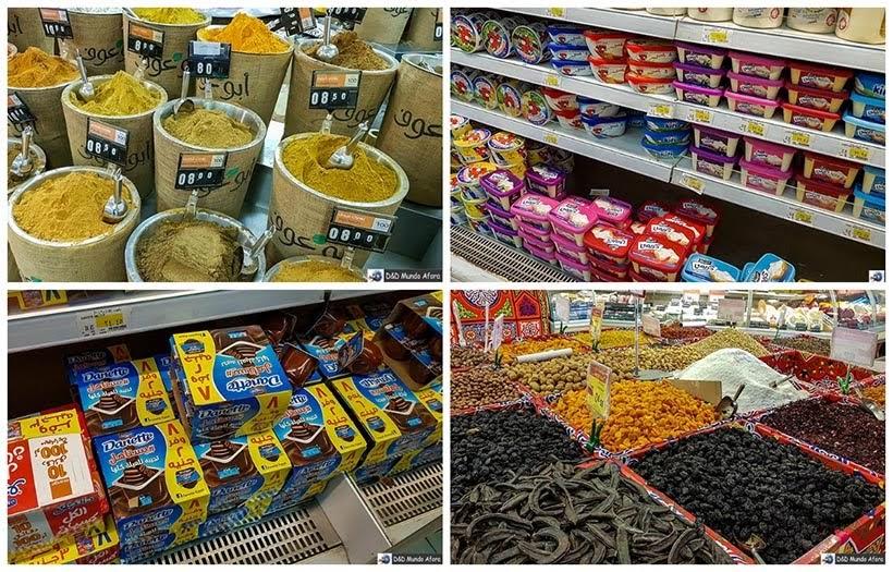 Supermercado no Cairo - Diário de Bordo: 2 dias no Cairo