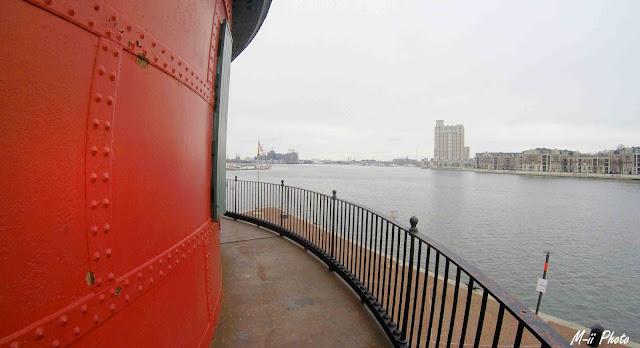 My Travel Background : A la découverte de Batimore, Seven Foot Knoll Lighthouse, Inner Harbour